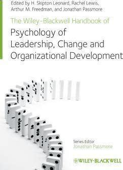 the wiley blackwell handbook of the psychology of the at work wiley blackwell handbooks in organizational psychology books the wiley blackwell handbook of the psychology of