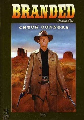 branded season 1 3 dvd 2007 television on starring chuck connors timeless media