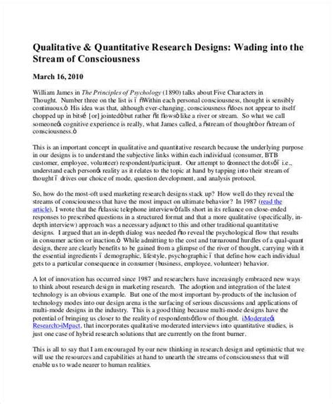 layout of a qualitative research report research paper qualitative analysis