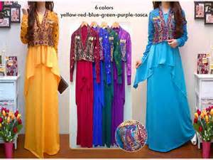 Maxidress Longdress Gamis Abaya Square Owl korea fashion butiq laman 12
