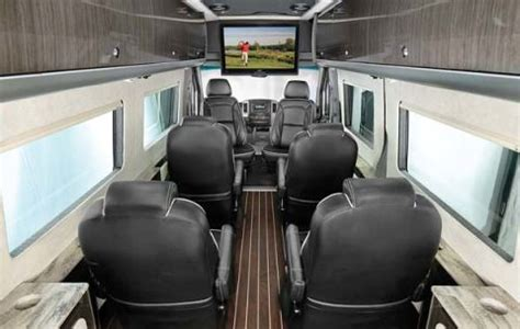 Autobahn Interiors by Aircraft Inspired Airstream Autobahn Seats 8 Important