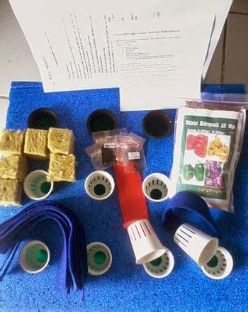 Starter Pack Hidroponik griya hidroponikku paket starter kit hidroponik untuk pemula