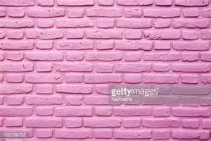 pink brick wall pink brick wall texture stock photo getty images