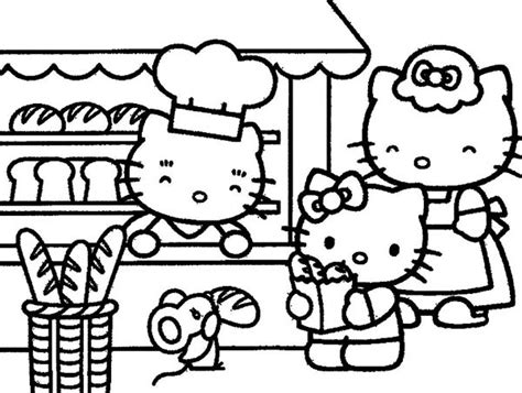 hello kitty baking coloring pages hello kitty baking coloring pages kids coloring page gallery