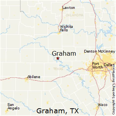 map of graham texas best places to live in graham texas