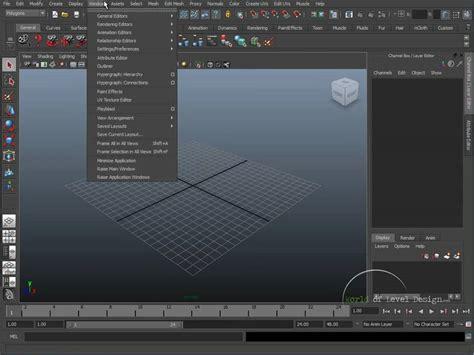 maya qt interface tutorial maya beginner basics 1 10 user interface tutorial 01