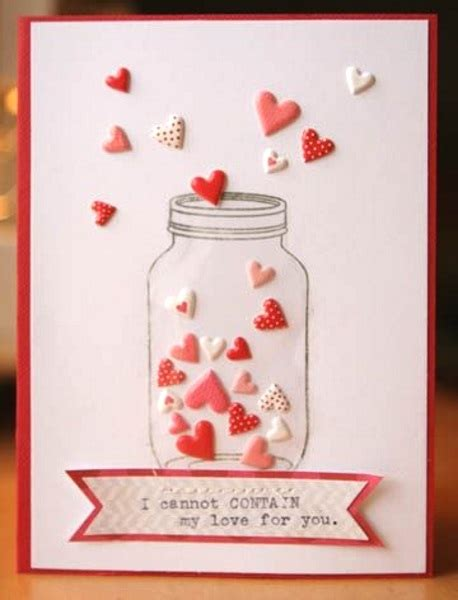 valentines cards ideas adorable valentines day handmade card ideas pink lover