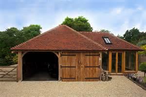 barns garages two bay cart barns brookwood oak barns
