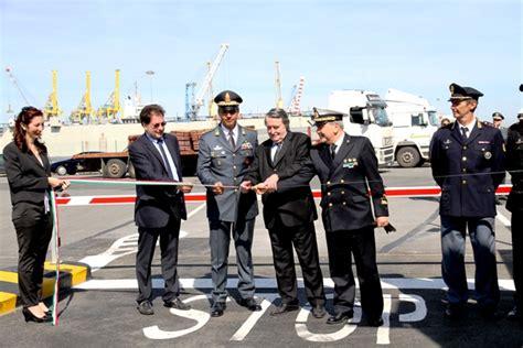 ufficio dogane pisa inaugurato il nuovo varco doganale zara gallanti