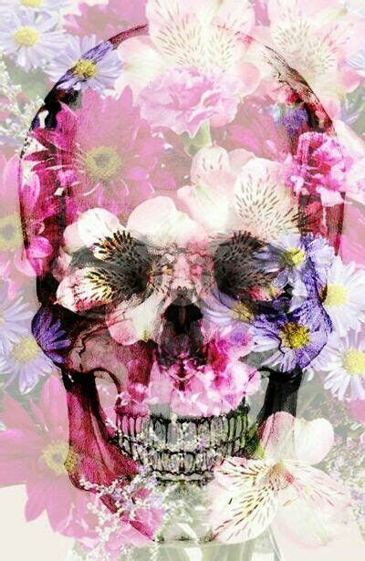 wallpaper skull flower 17 mejores ideas sobre skull wallpaper iphone en pinterest