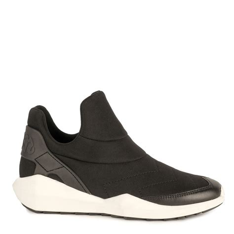 shop ash footwear today for black neoprene quid trainers
