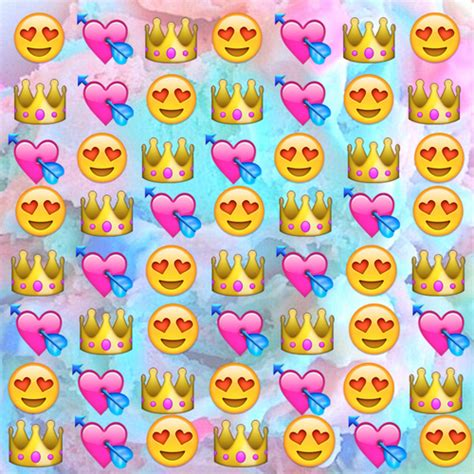 emoji wallpaper editor emoji wallpaper shared by tha queen on we heart it