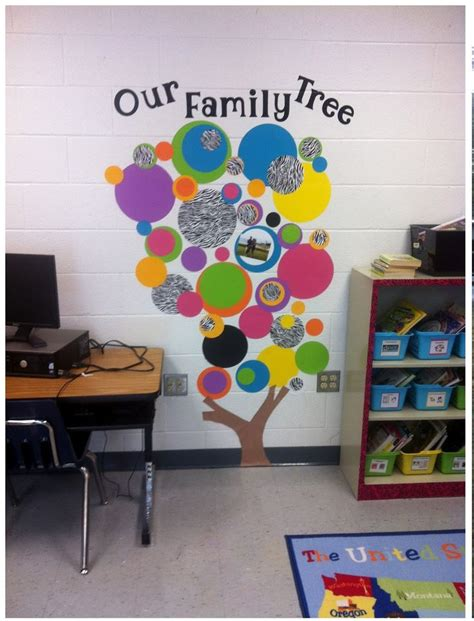 pre k classroom decorating themes best 25 classroom family tree ideas on
