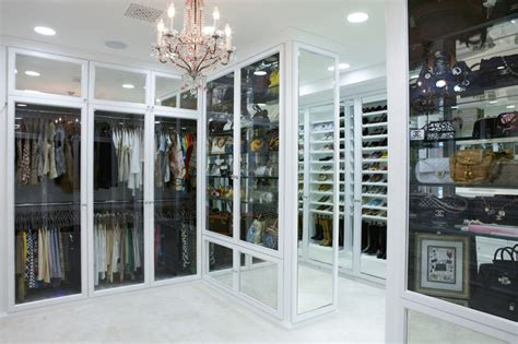 The Boutique Closet the antiqued mirror boutique contemporary closet los angeles by la closet design