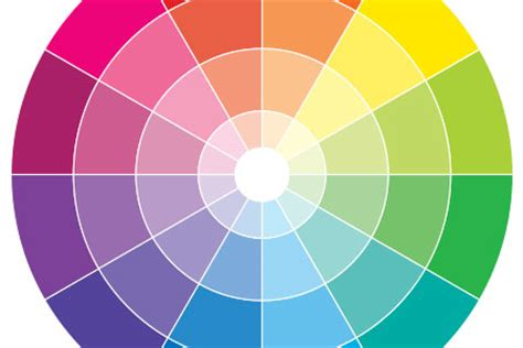 color wheel a palette chart guide true value paint