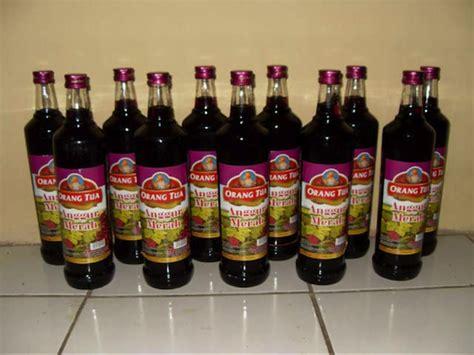 Anggur Cap Orang Tua 7 minuman keras asli indonesia mbaht blogs