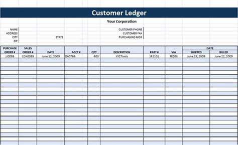 credit card ledger template excel templates microsoft word templates