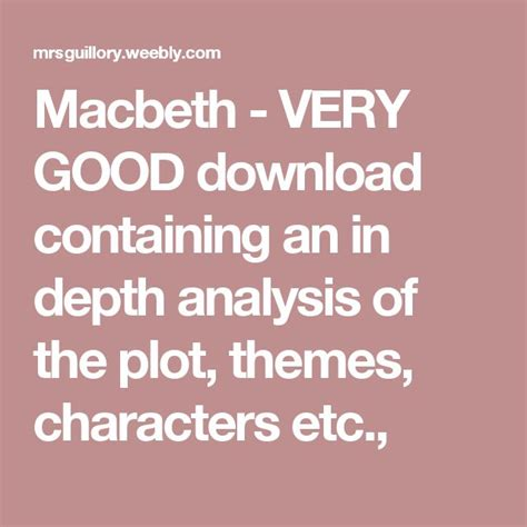 themes and techniques used in macbeth the 25 best themes in macbeth ideas on pinterest themes