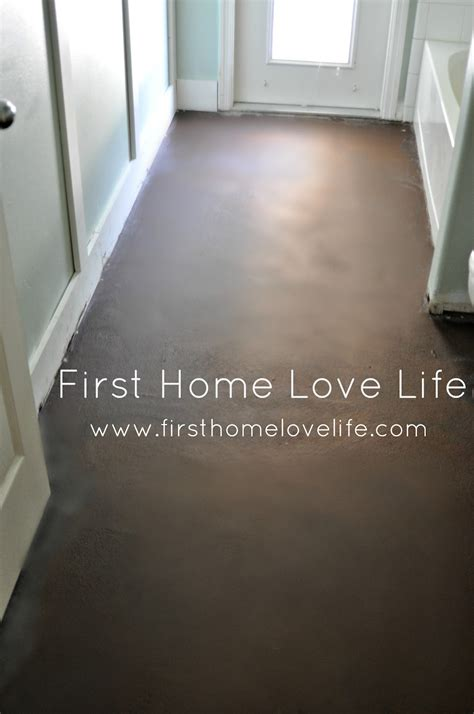 Floors And Decor Orlando concrete floors don t cry over spilt paint first home