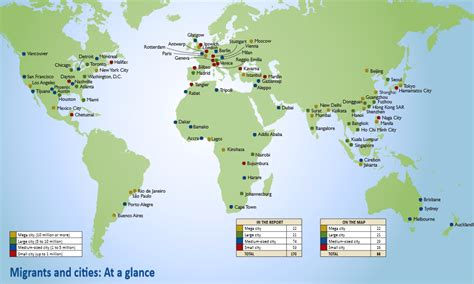 megacities world map how should cities plan for migrants world economic forum