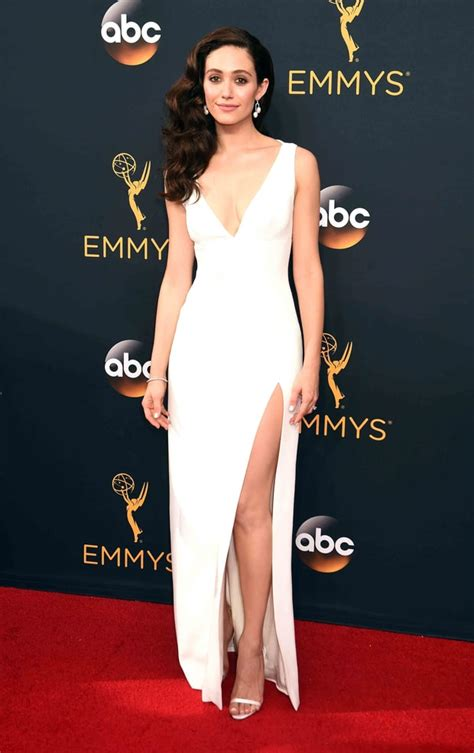 emmy rossum us weekly emmy rossum emmys 2016 red carpet fashion see what the