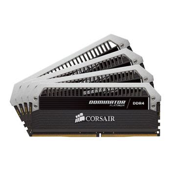 Ram Corsair 8gb Ddr4 corsair 32gb dominator platinum ddr4 2400mhz ram memory kit 4x 8gb ln70577 cmd32gx4m4b2400c10
