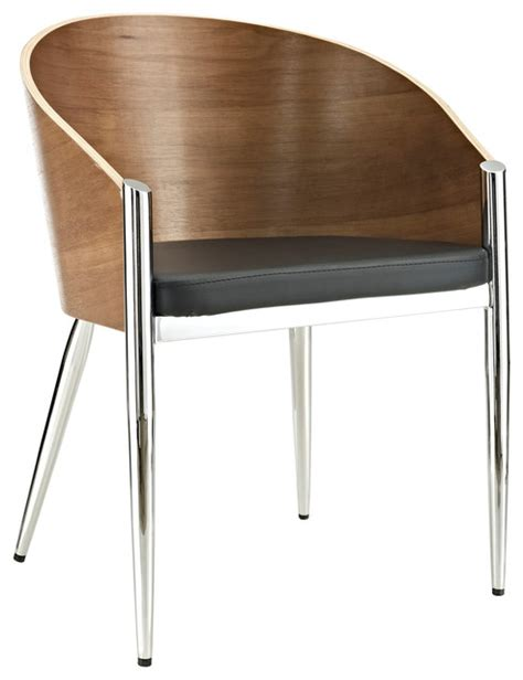 Philippe Starck Dining Chairs Cooper Dining Armchair In Silver Modern Dining Chairs By Lexmod