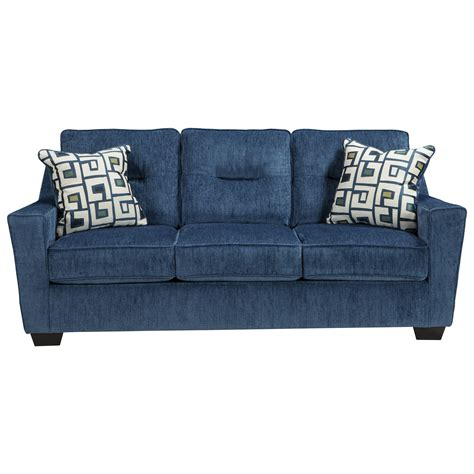 ashley furniture blue sofa ashley furniture blue sofa aldy sofa pacific ashley