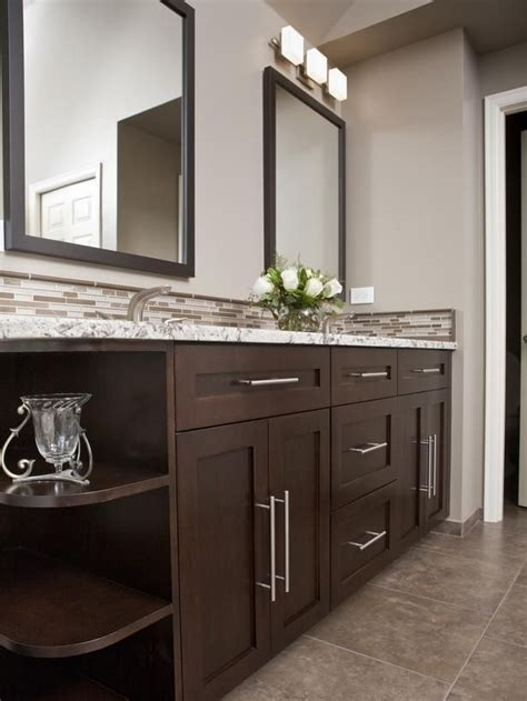 ideas for bathroom vanities and cabinets 25 best ideas about dark cabinets bathroom on pinterest