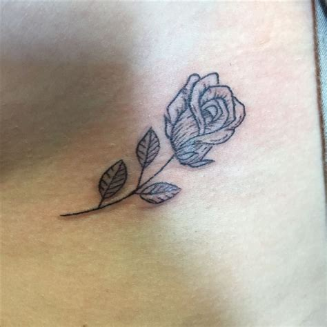 rose tattoo up side 25 gorgeous single tattoos ideas on
