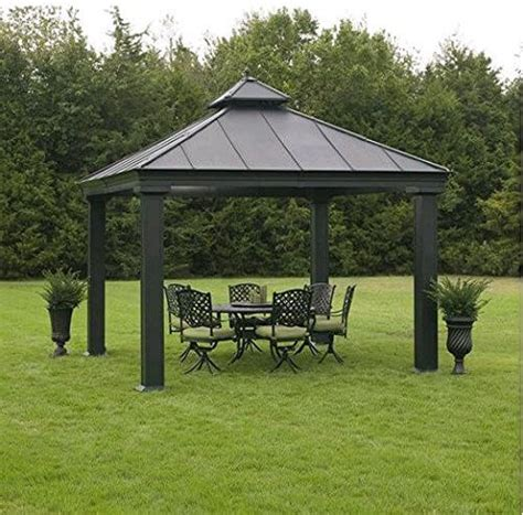 Stabiler Pavillon 3x3 Wasserdicht by 34 Metal Gazebo Ideas To Enhance Your Yard And Garden With