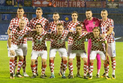 world cup 2018 qualifiers team photos croatia national