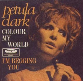 my song wiki colour my world petula clark song