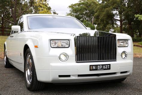 rolls royce phantom wedding car hire sydney