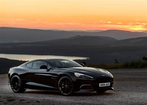 aston martin sedan black 2019 aston martin vanquish carbon black car photos