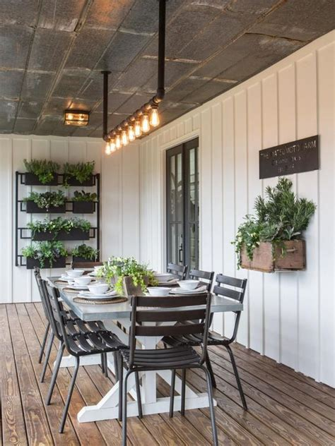 create outdoor rooms with wow factor refresh renovations fixer upper the colossal crawford reno modern farmhouse
