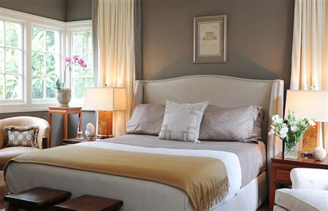 warm bedroom paint colors taupe paint color transitional bedroom benjamin moore sparrow brian dittmar design
