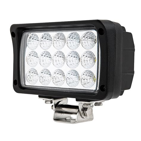 what is light duty work 6 quot rectangular 45w heavy duty high powered led work light