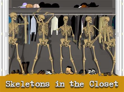 skeletons in the closet quotes quotesgram