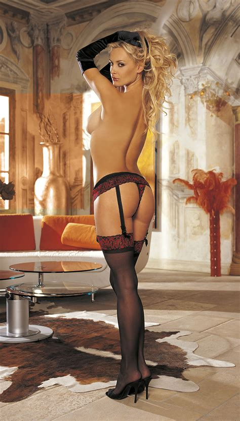 only stockings and garter belt bent over bent over garter belt stockings no panties sex porn images