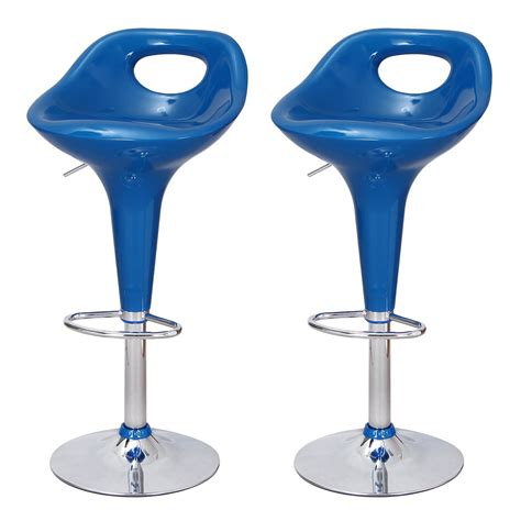 colorful bar stools joveco stylish colorful swivel adjustable chrome base bar