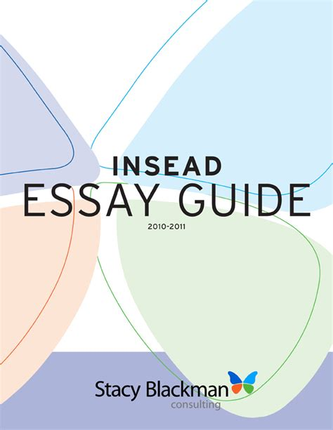 Insead Mba Essays Exles by Mba Admission Essays Services Insead