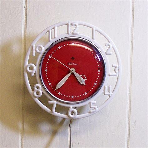 17 best images about vintage kitchen clocks on