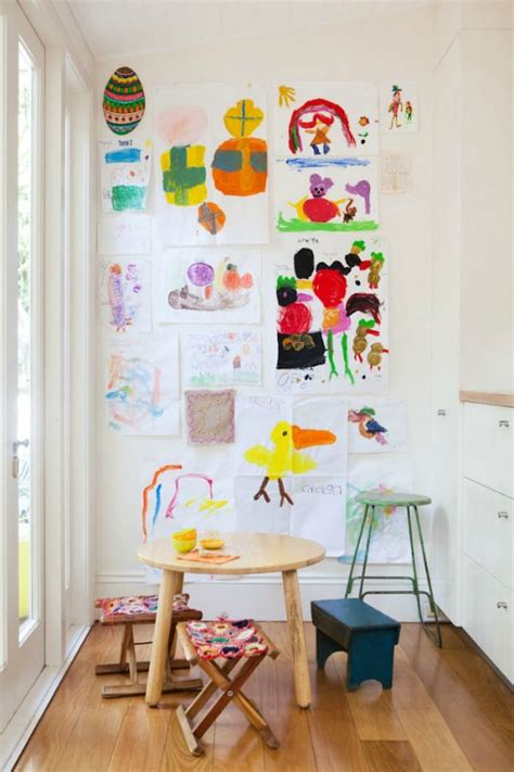 how to display art how to display kids artwork clean and scentsible