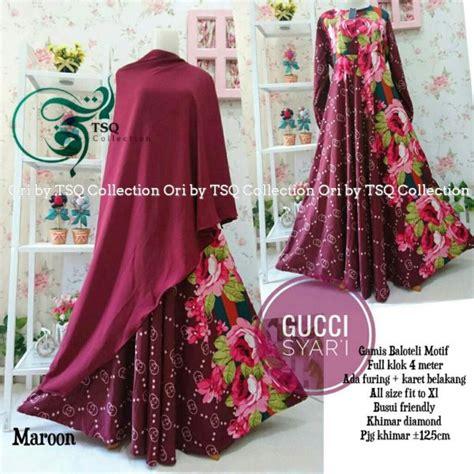 Harga Jilbab Gucci gamis cantik terbaru gucci syar i balotely baju muslim