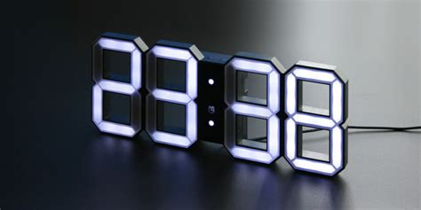 touch of modern touch of modern the kibardin led clock self contained