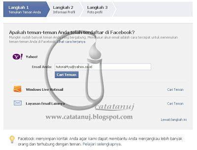 membuat facebook resmi cara mudah membuat facebook gratis