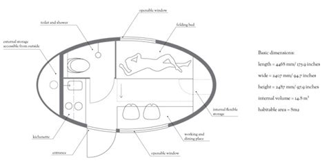 ecocapsule   egg shaped tiny home
