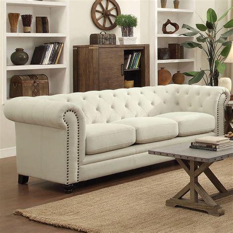 roy sofa oatmeal coaster furniture furniture cart