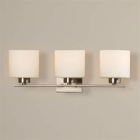 bathroom lights mercury row odom 3 light bath vanity light reviews wayfair